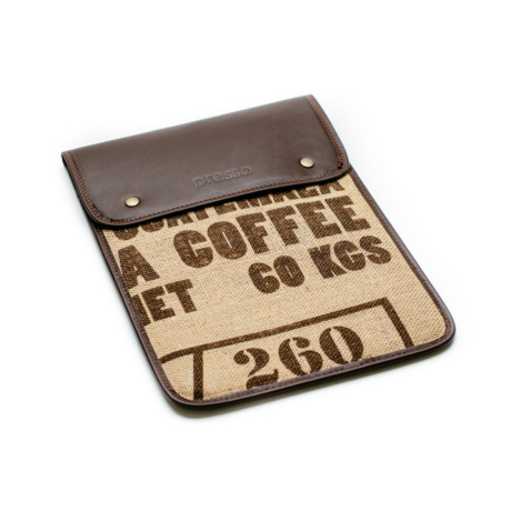 "11"" Laptop tok - Coffee Text"